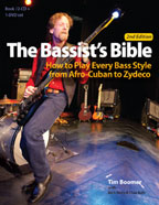 The Bassist's Bible, by Tim Boomer