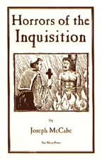 Horrors of the Inquisition, by Joseph McCabe cover graphic