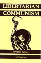 Libertarian Communism, by Isaac Puente cover graphic